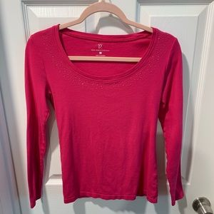 NY&Co pink sparkle top